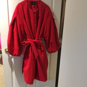 Gorgeous Red Spring/Fall Coat